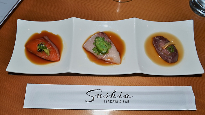 Sashimi Trio