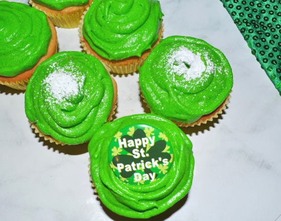 St Patricks Day Cupcakes 1