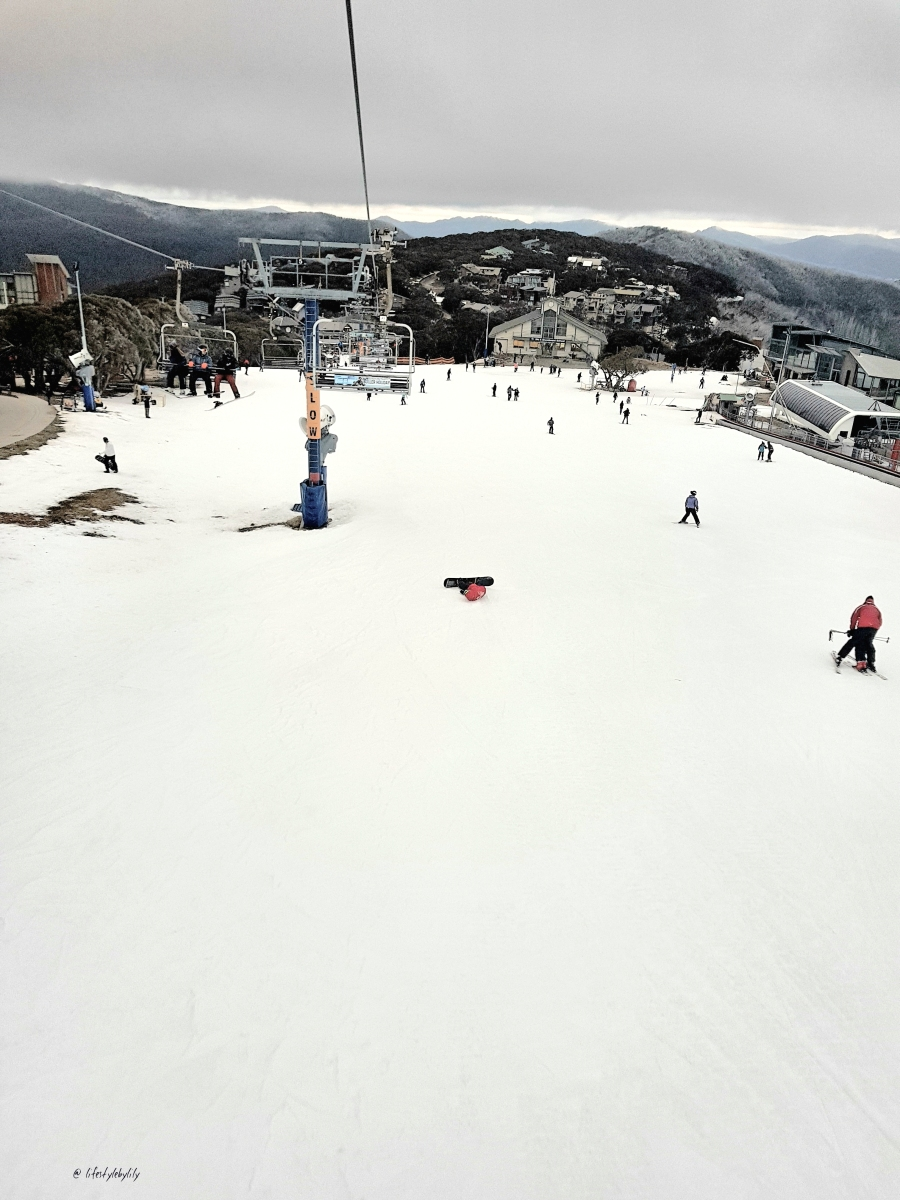 Skiing At Mt Buller