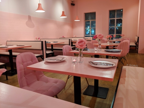pink the restaurant, melbourne, vegan, vegetarian, pink vibes only