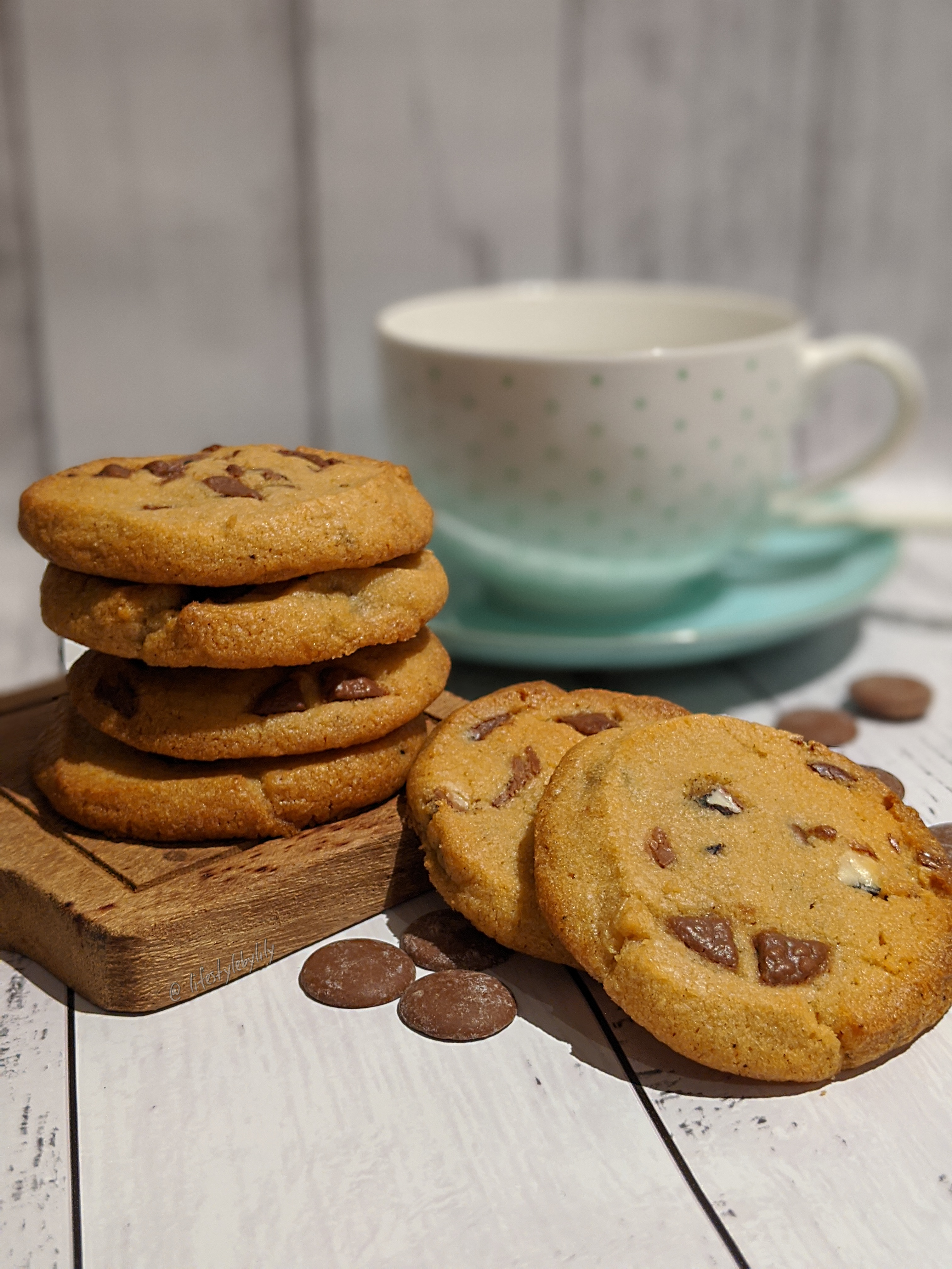 Homemade, cookies, chocolate chip, easy, recipe